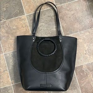 Lucky Brand Black Leather Purse